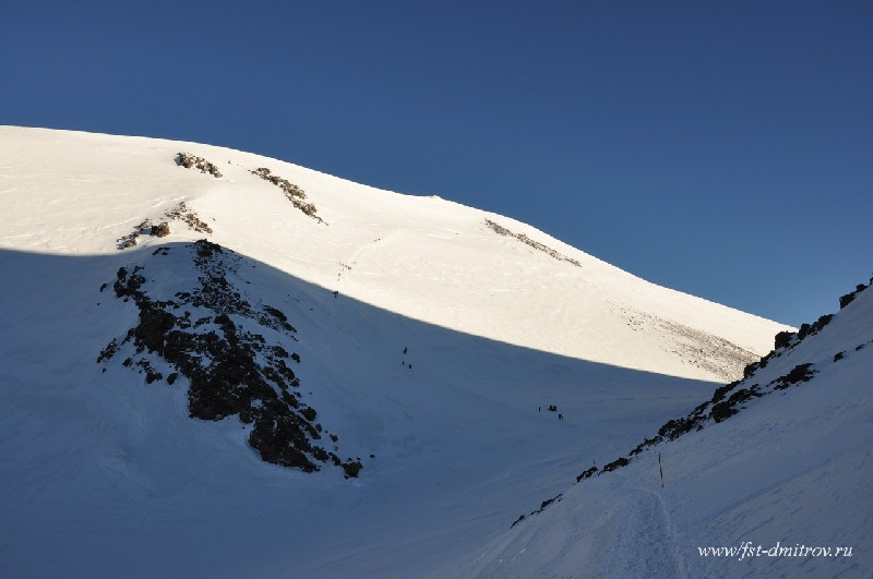 Отчет о горном походе 3 к.с. по Западному Кавказу (Гвандры) и Приэльбрусью