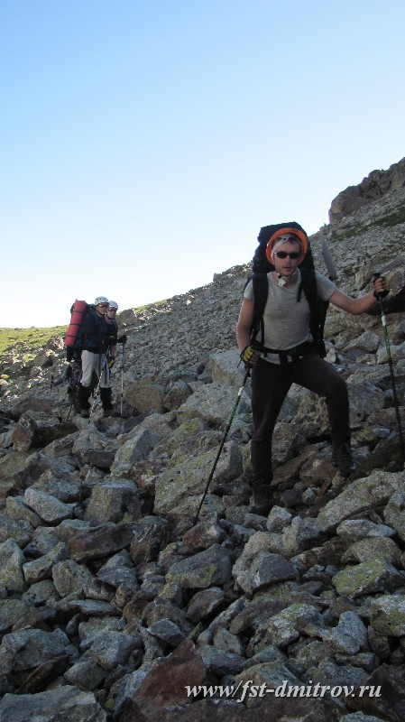 Отчет о горном походе 1 с эл. 2 к.с. по Западному Кавказу (Гвандры) и Приэльбрусью