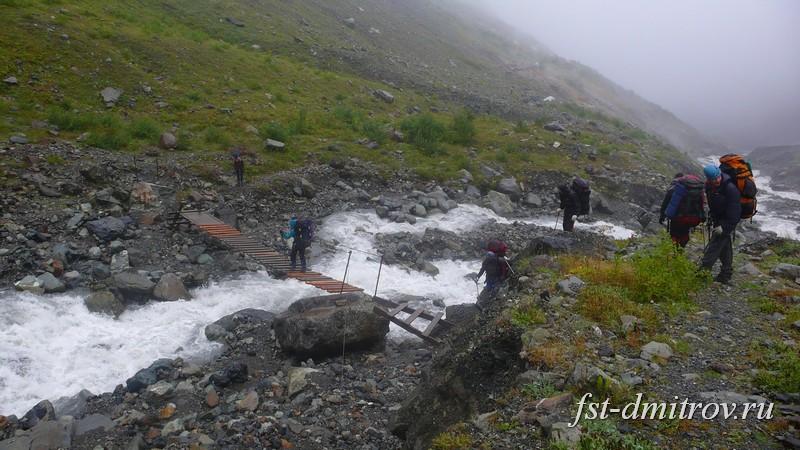 Отчет о горном туристическом походе  4 к.с. с элементами 5 к.с.  по Северной Осетии